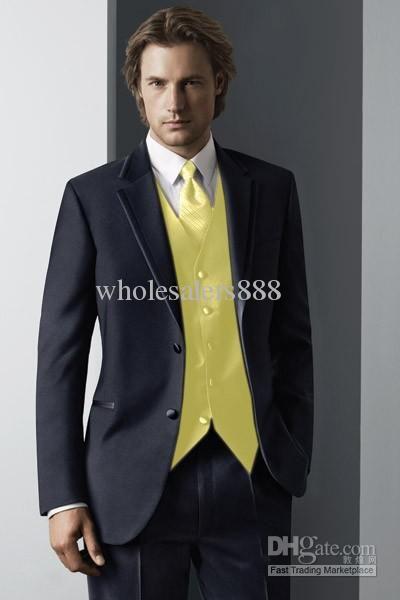 bright yellow vest