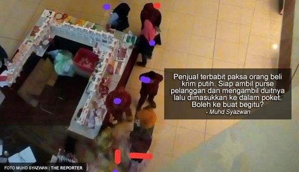 MalaysiaNews:'Penjualnya paksa orang beli sehingga berani mengambil purse dan duit pelanggan masuk dalam poket' - Pengadu http://ift.tt/2uvs6Hd