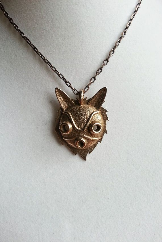 San's Mask 3-D Printed Necklace