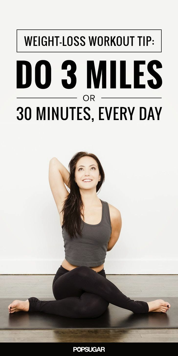 Do 3 Miles or 30 Minutes Every Day | Medi Villas