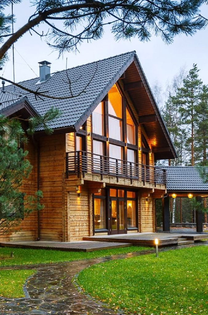 50 Top Log Cabin Homes Plan Design Ideas 27 In 2020 House Designs Exterior Log Homes Exterior Rustic Houses Exterior