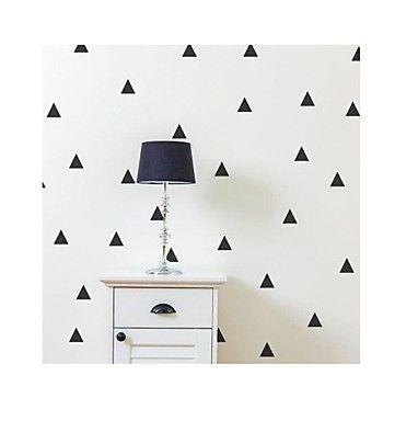 jiubai ™ pequeno triângulo adesivo de parede parede decalque – EUR € 16.32