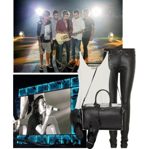 First OTRA concert with Harry - Polyvore