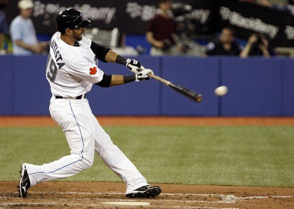 Jose Bautista hits a ball hard!  http://baseballbattinghq.com/