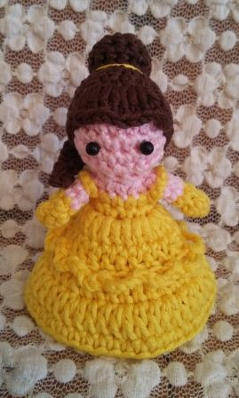 """Belle """"La Bella e la Bestia"""". Uncinetto. Crochet."""