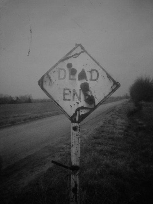 #Dead end. #Stop. #Sign