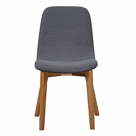 Frieda Dining Chair  Charcoal/Oak