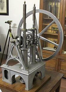first internal combustion engine, invented in the mind 1850's by many various scientists and engineers.