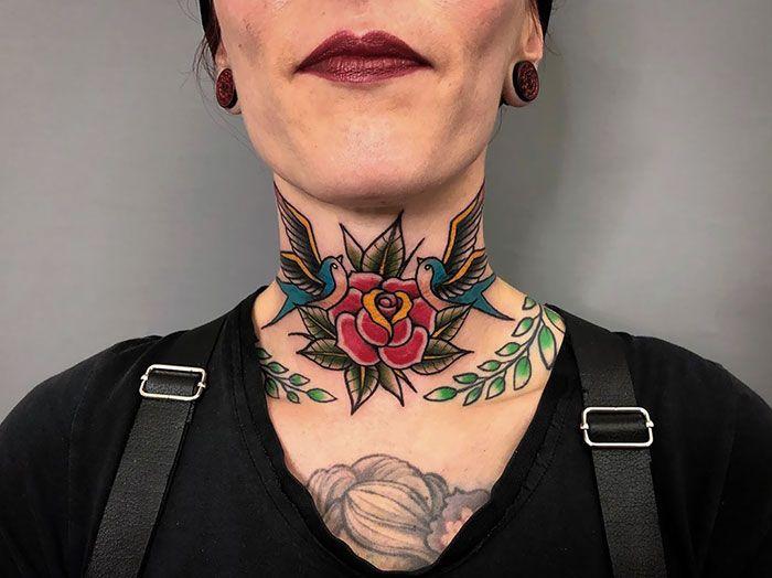 Tatouage de la vieille école   – Tats & Henna