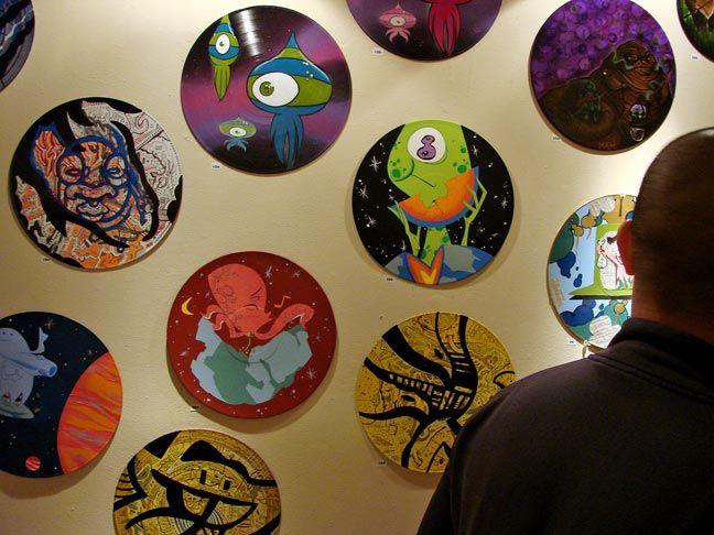 vinyl record art at ArtBusiness.com