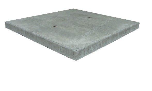 Stelconplaten / Betonplaat 200x200x14 B60 15 ton asdruk