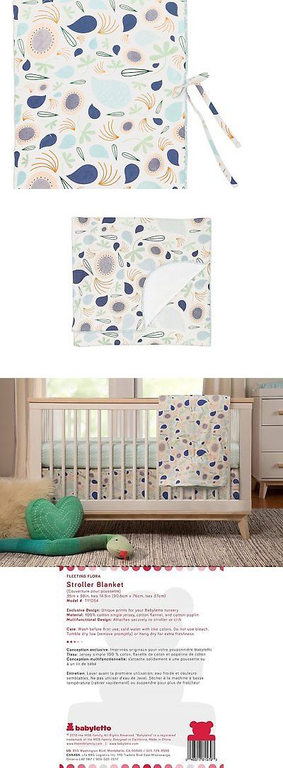 Blankets and Throws 3081: Babyletto Stroller Blanket, Fleeting Flora -> BUY IT NOW ONLY: $32.56 on eBay!