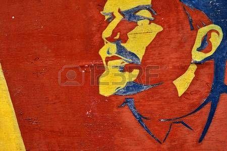 comunista: Lenin. Un símbolo del comunismo. El líder de la revolución mundial.