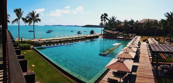 Hansar samui this boutique luxury hotel on koh samui thailand has a non chlorinated pool for What is a freshwater swimming pool