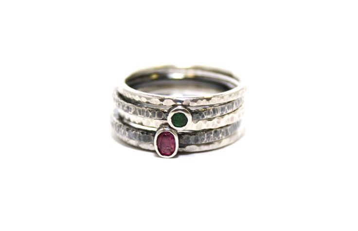 Silver rings, by Patrícia Cabré