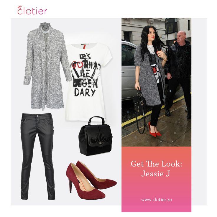 Get The Look: Jessie J – Outfit cu atitudine ‹ Clotier  http://www.clotier.ro/blog/2015/01/14/get-the-look-jessie-j/?utm_source=Pinterest&utm_medium=Board&utm_campaign=Blog%20Clotier&utm_content=Get%20the%20look