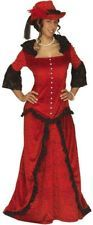 Ladies Western Lady Costume Small UK 8-10 for Wild West Cowboy Fancy Dress
