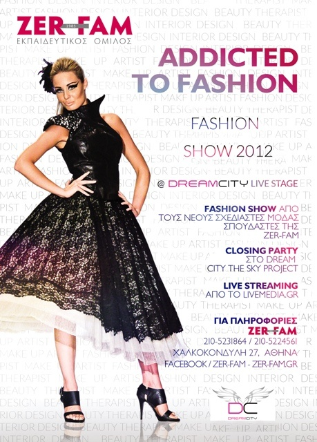 "ZER-FAM FASHION SHOW &  2012 ""ADDICTED TO FASHION"" 4/7 @ Dream City Live Stage"