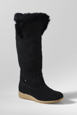 Women's Mendota Tall Boots from Lands' End: Country Send, Dresses Up, Tall Boots, Clothing, Chalets Boots, Winter Boots, Dreams Coming True, Woman Mendota, Boots Order