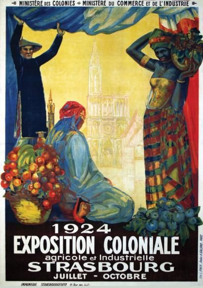 * Exposition Coloniale 1924 - Strasbourg