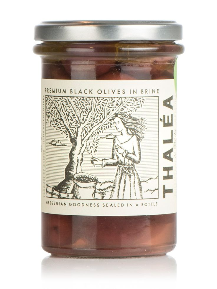 "Kalamata black Olives ""THALEA"" 5.9oz"