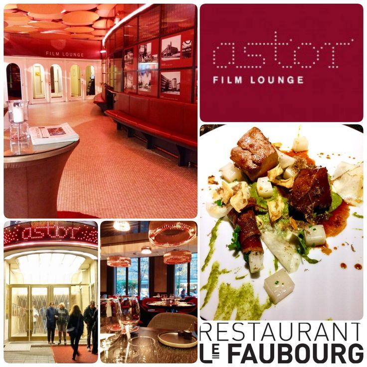 Amazing Topempfehlung f r das Restaurant ucLe Faubourg uc u der Test aus dem Arrangement ueKino u K che uc der ucAstor Film Lounge uc in Berlin
