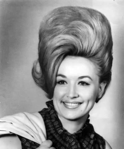 When they were young: Dolly Parton.