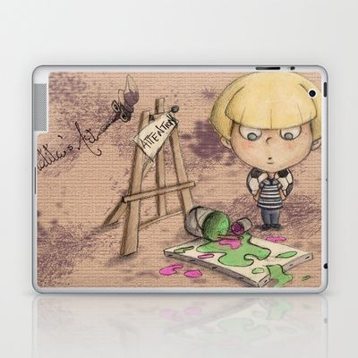 Matita's Art Laptop & IPad Skin