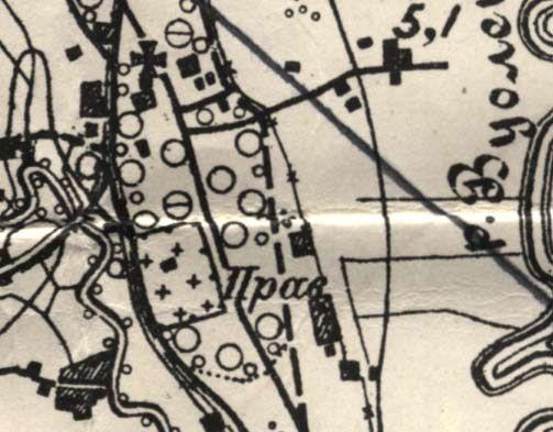 кирха и кладбище в никулясах
