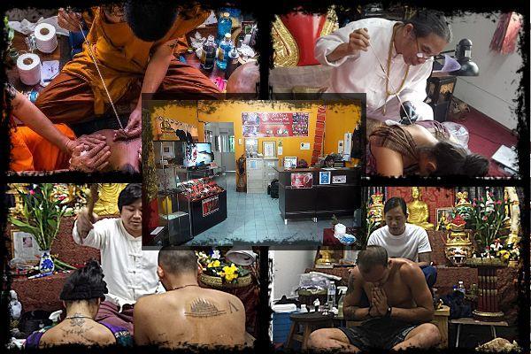 Sak Yant Chiang Mai Accueil   – tattoo