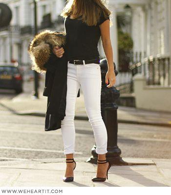 ¿Cómo usar y combinar unos jeans de colores?   Moda Falabella