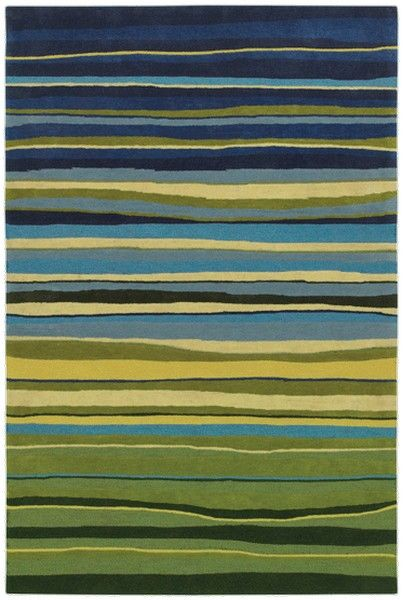 Shaw Rugs Loft Candy Stripes 3k089 Area Rug Rugs On
