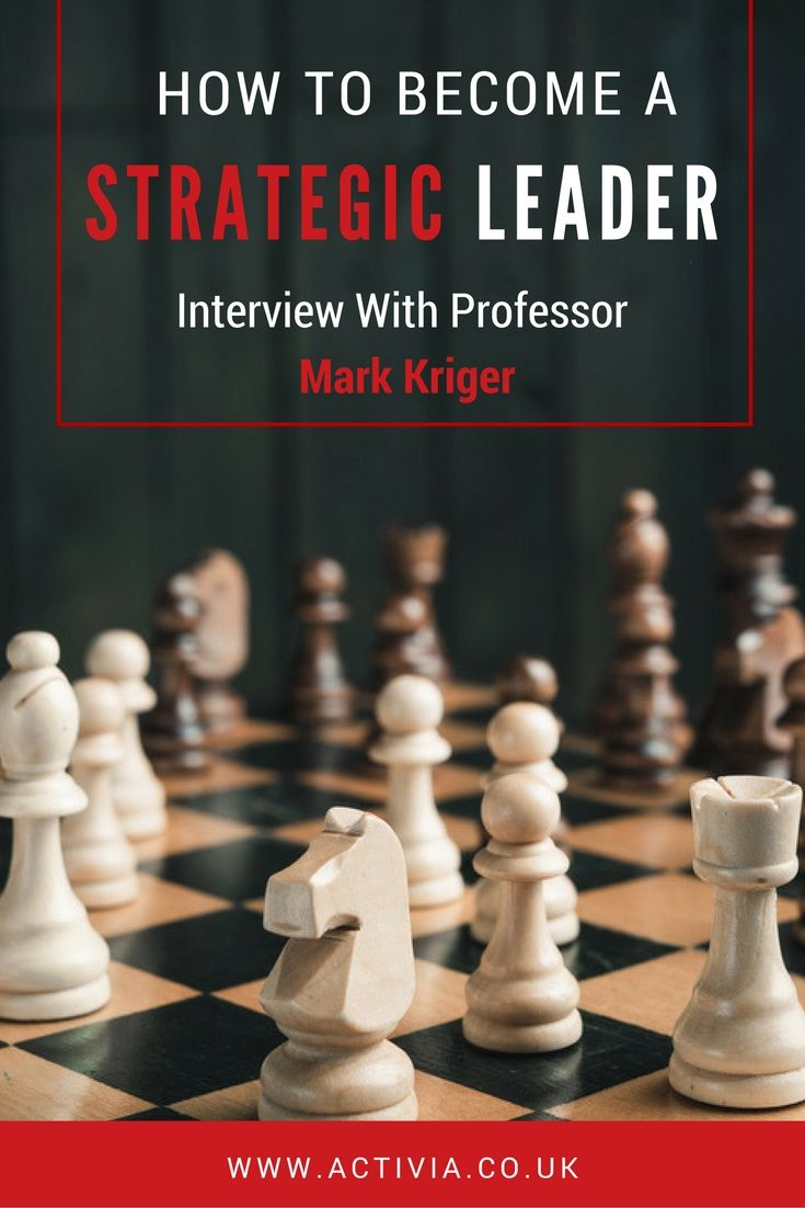 strategic leadership 2017-10-4 do you know what defines strategic leadership, or are you guilty of believing one of the 3 common myths about leadership and strategy.