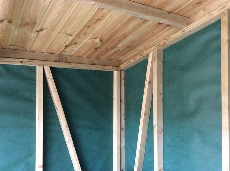 Solid 3x2 framework on all our Summerhouses and workshops