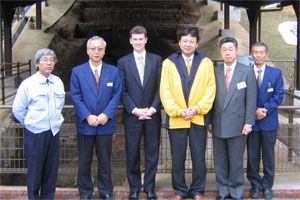 Jeff Egan Delegation in Japan