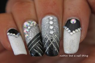 1920s nails ideas