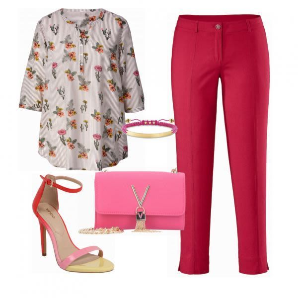 Big Size Outfits: Ghappy in Pink at FrauenOutfits.de #mode #damenmode # …