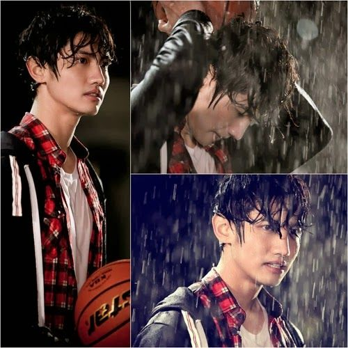 Changmin gets angry under the rain in still cut for 'Mimi', wet look is charming.  #changmin #mimi #charming #max #changminmimi #kpopnews #uknow #tvxq #smdrama