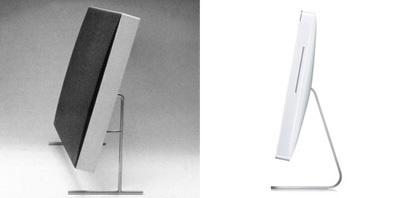 INFLUENCE: Altavoz Braun LE1 vs Apple iMac