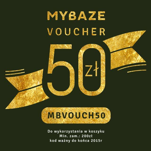 Visit my shop on mybaze.com and get 50 złotych discount!!