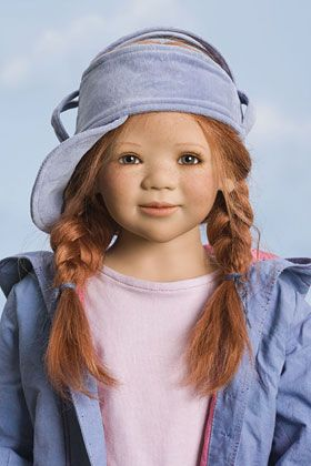Very rare porcelain dolls from Himstedt, German designer who stopped working in 2008. Meticulous