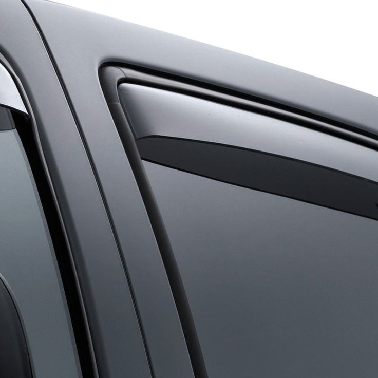WeatherTech 71392 Series Light Smoke Rear Side Window Deflectors - Side Window Deflectors WeatherTech(R) Side Window Deflectors, offer fresh air enjoyment with an original equipment look, installing within the window channel. They are crafted from the finest 3mm acrylic material available. Installation is quick and easy, with no exterior tape needed. WeatherTech(R) Side Window Deflectors are precision-machined to perfectly fit your vehicle's window channel. These low profile window…