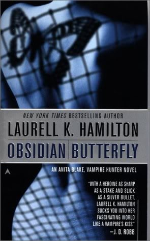 Anita Blake series by Laurell K. Hamilton - a really fun set of books!