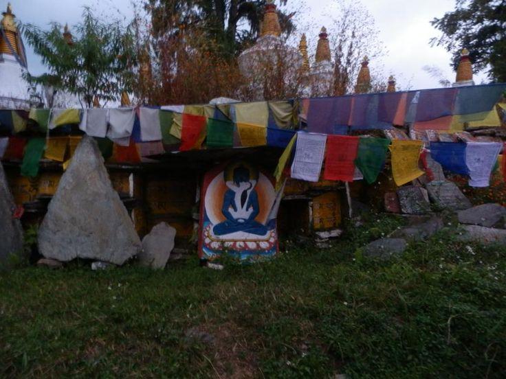 Buddhist Stone Artwork at Tashiding Monastery near Pelling, Sikkim.  http://www.TaoJourneys.com