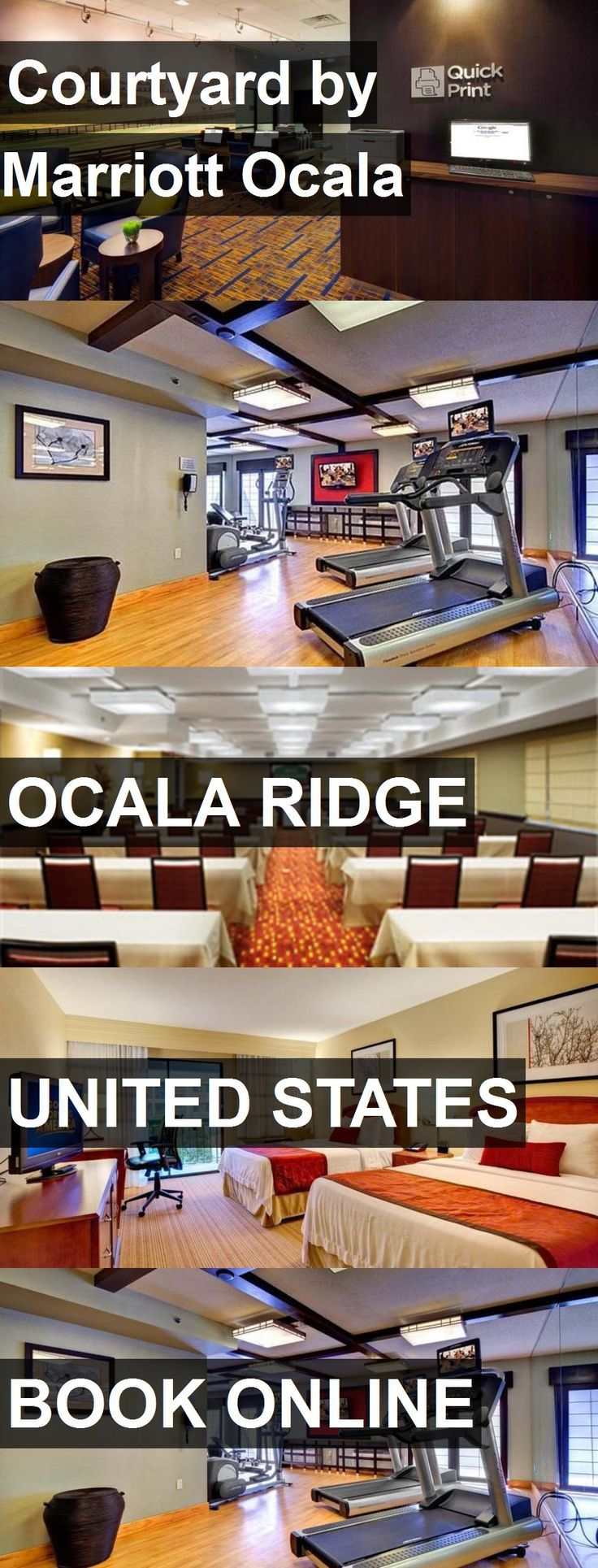 Hotel Courtyard by Marriott Ocala in Ocala Ridge, United States. For more information, photos, reviews and best prices please follow the link. #UnitedStates #OcalaRidge #travel #vacation #hotel