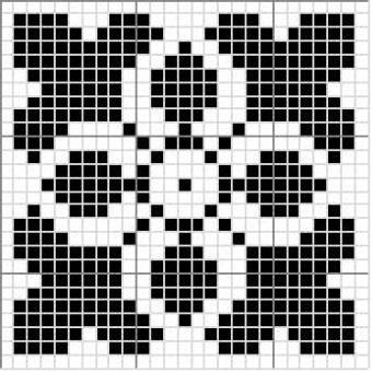 Square | gancedo.eu Charts for knitting, etc.