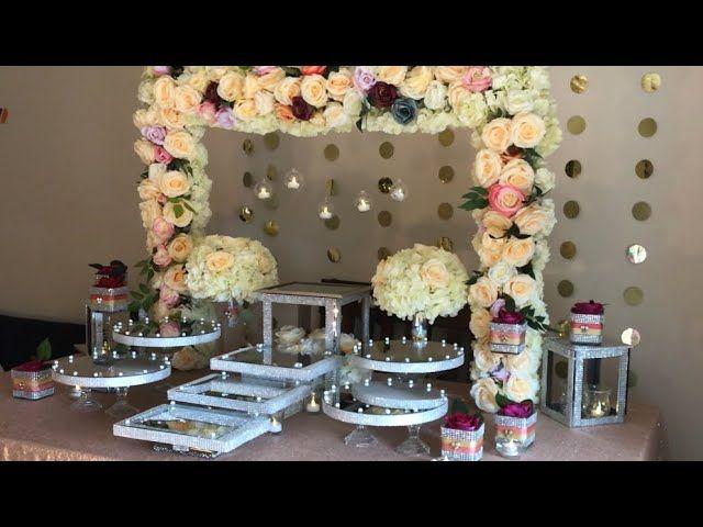 Diy Dessert Table Decor Diy Dollar Tree Dessert Table Decor Diy Bling Decor Diy Wedding Decor Diy Dessert Table Diy Dessert Table Decor Diy Table Decor