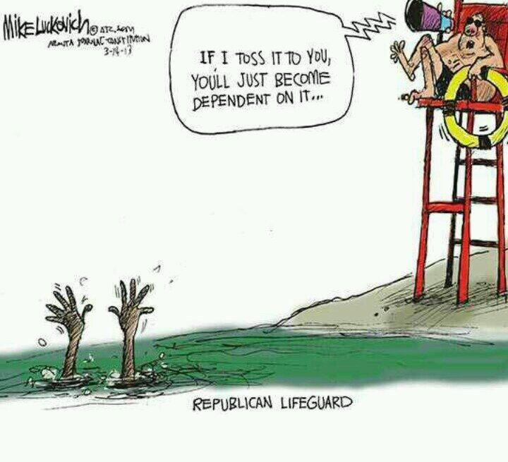 Republican Lifeguard As a current lifeguard, I found this funny!
