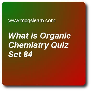 organic chemistry practice test with answers pdf