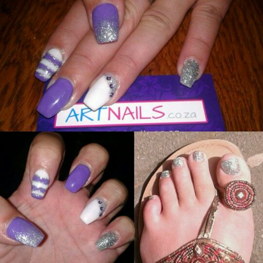 Squoval Silvers: 1000+ Ideas About Silver Acrylic Nails On Pinterest